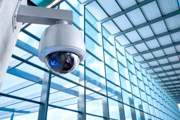 Security CCTV camera for office building